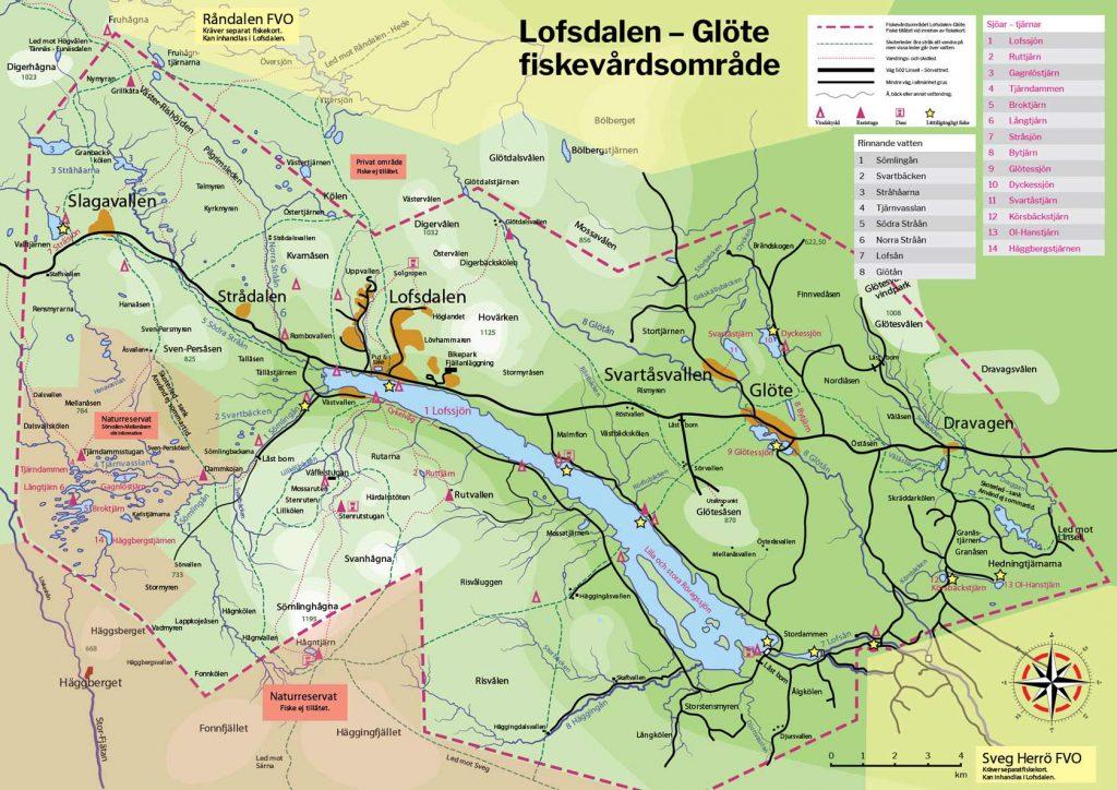Fiskekarta Lofsdalen-Glöte FVO 2020.